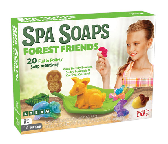 Smartlab Toys All-Natural Forest Friends Spa Soaps Science Toy
