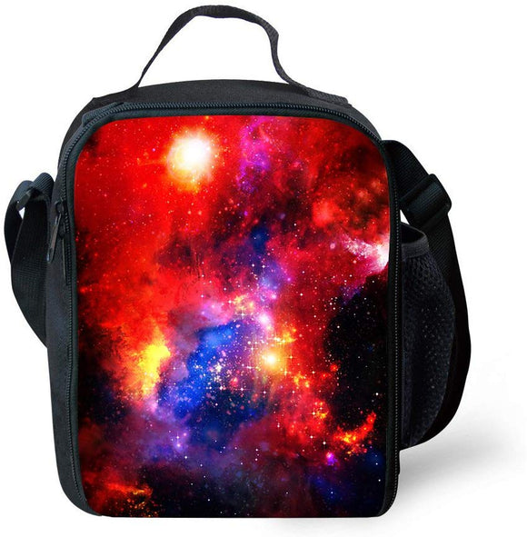 Carbeen Galaxy Lunch Bag Insulated Lunch Box Cooler Bag