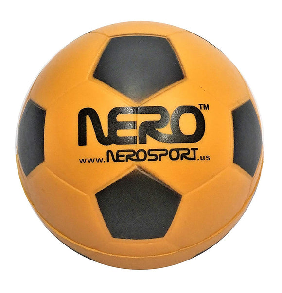 Nero Ns-Rs High Bounce Rubber Soccer 2.5 Inch Ball Great For The Streets Park Back Yard Bulk Price (Orange)