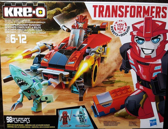 Kre-O Transformers Robots In Disguise Sideswipe Roadway Rundown Construction Set