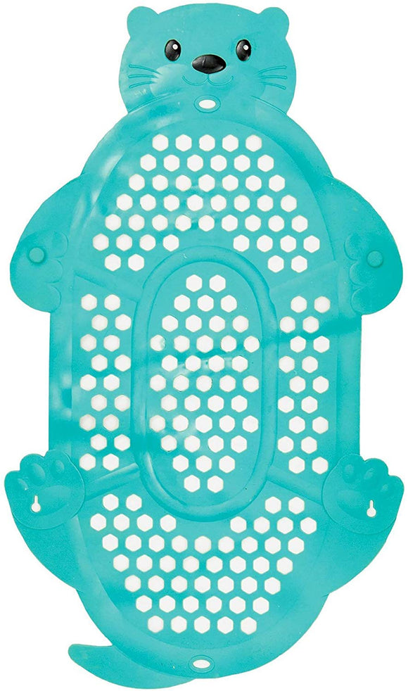 Infantino Go Gaga 2-In-1 Bath Mat & Storage Basket - Teal
