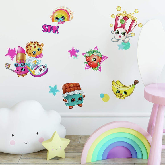 Roommates Shopkins Stars Peel And Stick Wall Decals
