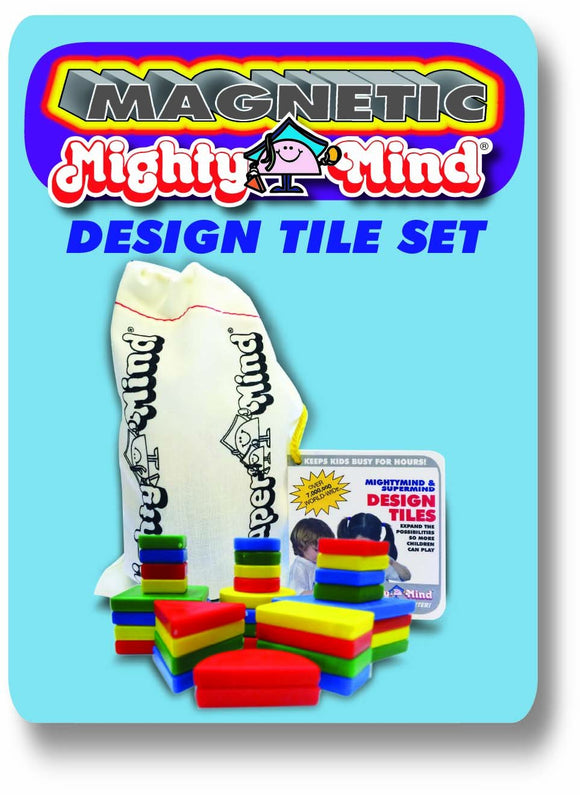 Mighty Mind Magnetic Mightymind / Supermind Design Tiles (44402)
