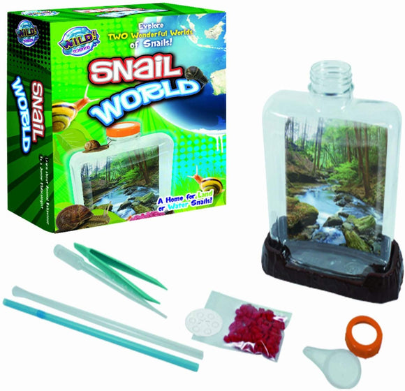 Tedco Snail World - Explore The Wonderful World Of Snails!
