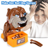 Plush Dog Toys, Flake Out Bad Dog Bones Cards Tricky Toy Games For Parent-Child Kid Play Fun