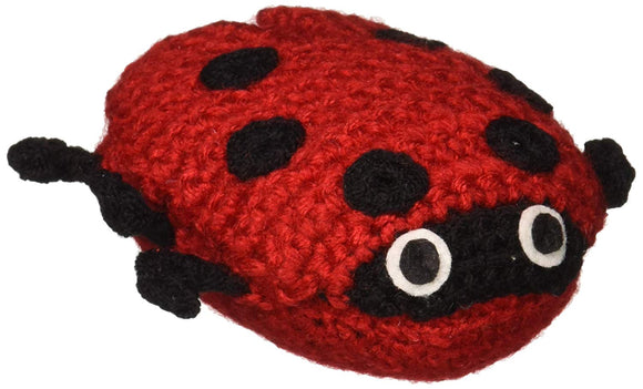 Silk Road Bazaar Knit, Ladybug Rattle