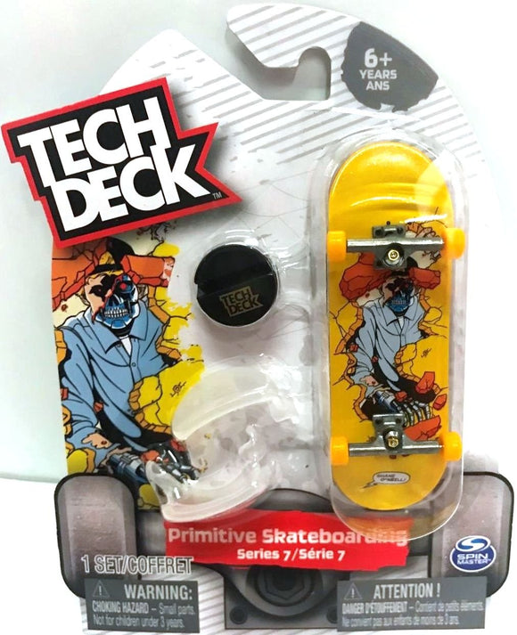Tech Deck Primitive Skateboarding Series 7 Shane O'Neill 96Mm Fingerboard Set