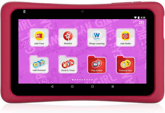 American Girl Tablet. Powered By Nabi