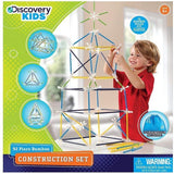 Discovery Kids Toy Construction Bamboo 92 Piece
