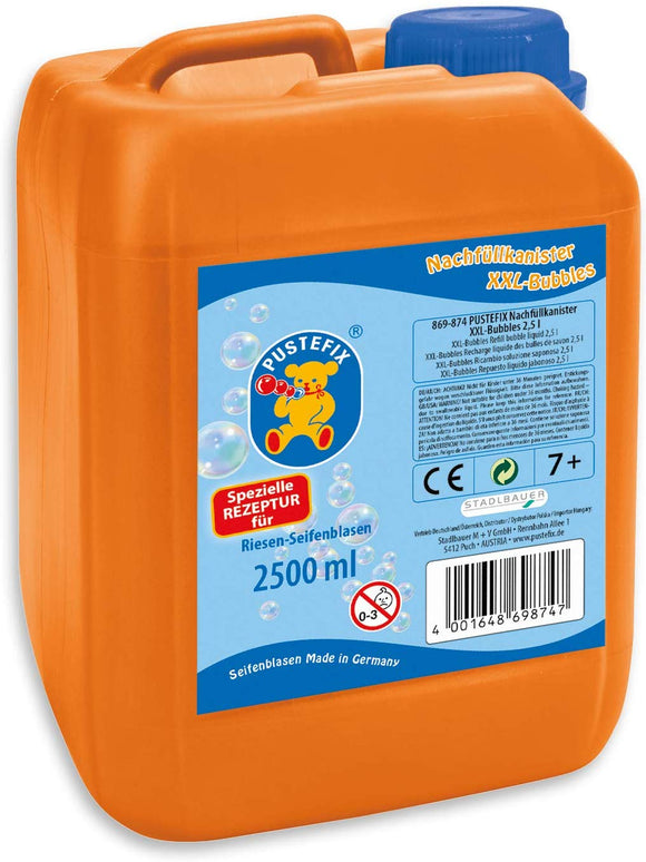 Pustefix Bubbles 420869874Refill Canister Xxl + 2.5L