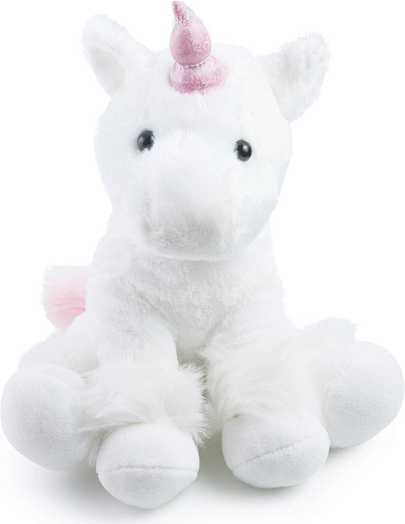 Unicorn Plush Animal Toy - Magical Gift Party Toy (White)