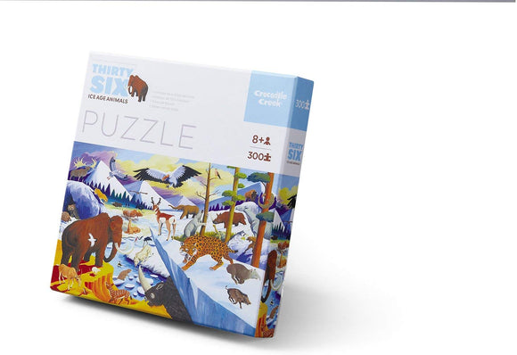 Crocodile Creek 4068-7 Piece Educational Ice Age Jigsaw Floor Puzzle, 20