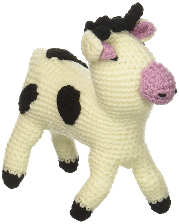 Silk Road Bazaar Knit, Cow Rattle