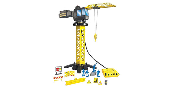 Discovery Kids 20 Pc Set 360 Degree Action Construction Crane Set