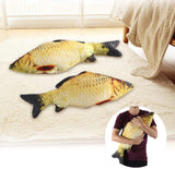 3D Soft Fish Cushion Pillow Carp Plush Pillow Stuffed Toy Throw Pillow For Home Decoration Gift(60Cm)