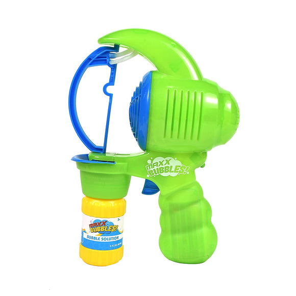Sunny Days Entertainment Maxx Bubbles Super Big Light-Up Bubble Blower For Huge Stream Of Bubbles Batteries And Solution Included