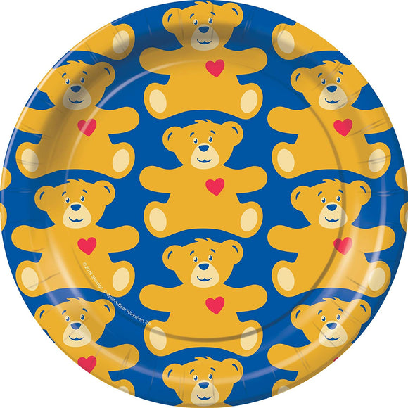 Build-A-Bear Dessert Plates Party Tableware Supplies Decorations