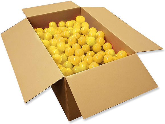Kiddy Up Crush Resistant Play Pit Balls (1000Count Yellow) Phthalate & Bpa Free
