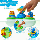 Pallenium Baby Bath Toys For Girls And Boys - Sprinkler Water Play For Kids, Best Water Toy For Fun Bath Time Activities For Children, Babies And Toddlers Over 1 Year