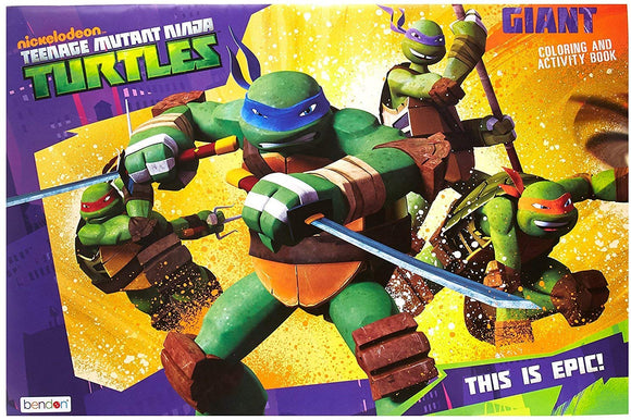 Nickelodeon Teenage Mutant Ninja Turtles Giant Coloring Book