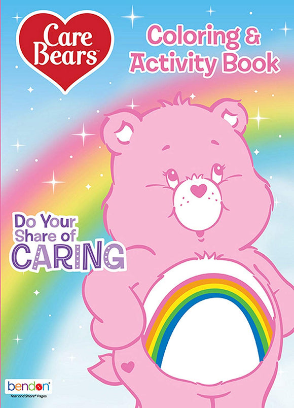 Care Bears 128-Page Do Your Share Of Caring Coloring And Activity Book