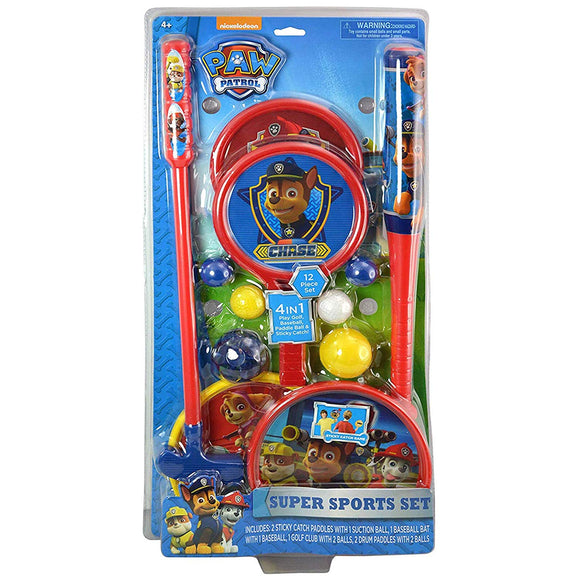 Paw Patrol 31435Paw Super Sports Set, Multicolor