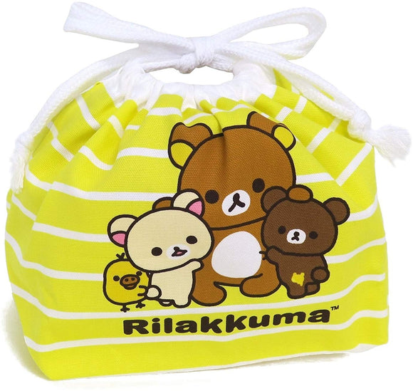 Osk Rilakkuma Lunch Bag Kb-1 Yellow From Japan