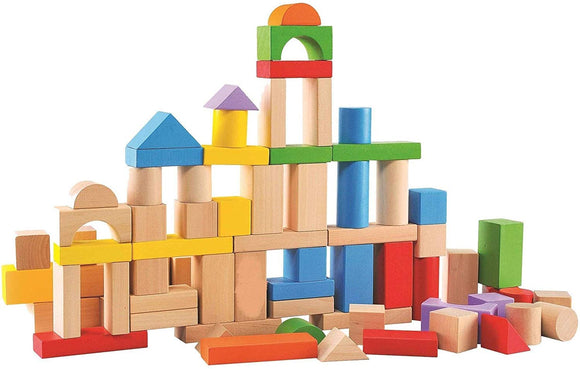 80-Piece Wood Block Set