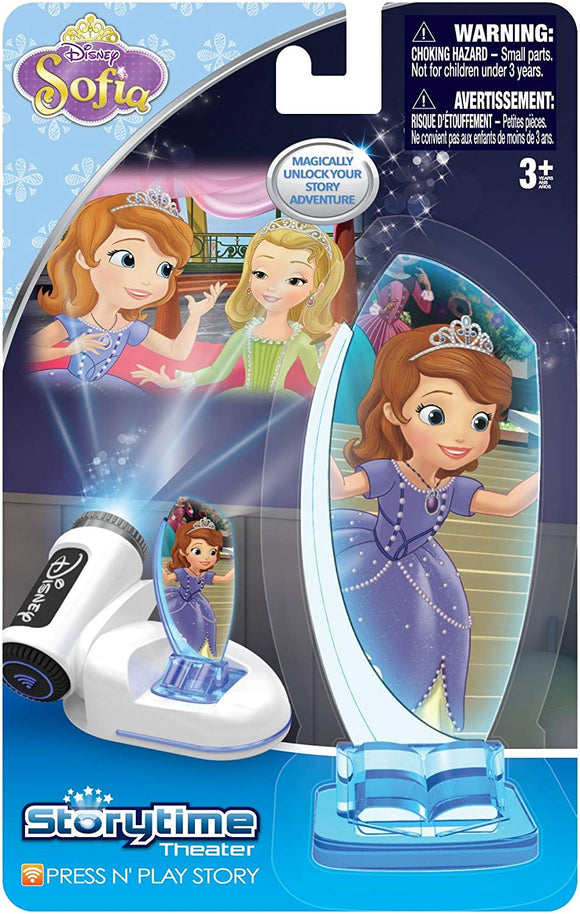 Tech 4 Kids Story Time Theater Press & Play Sophia The First Toy