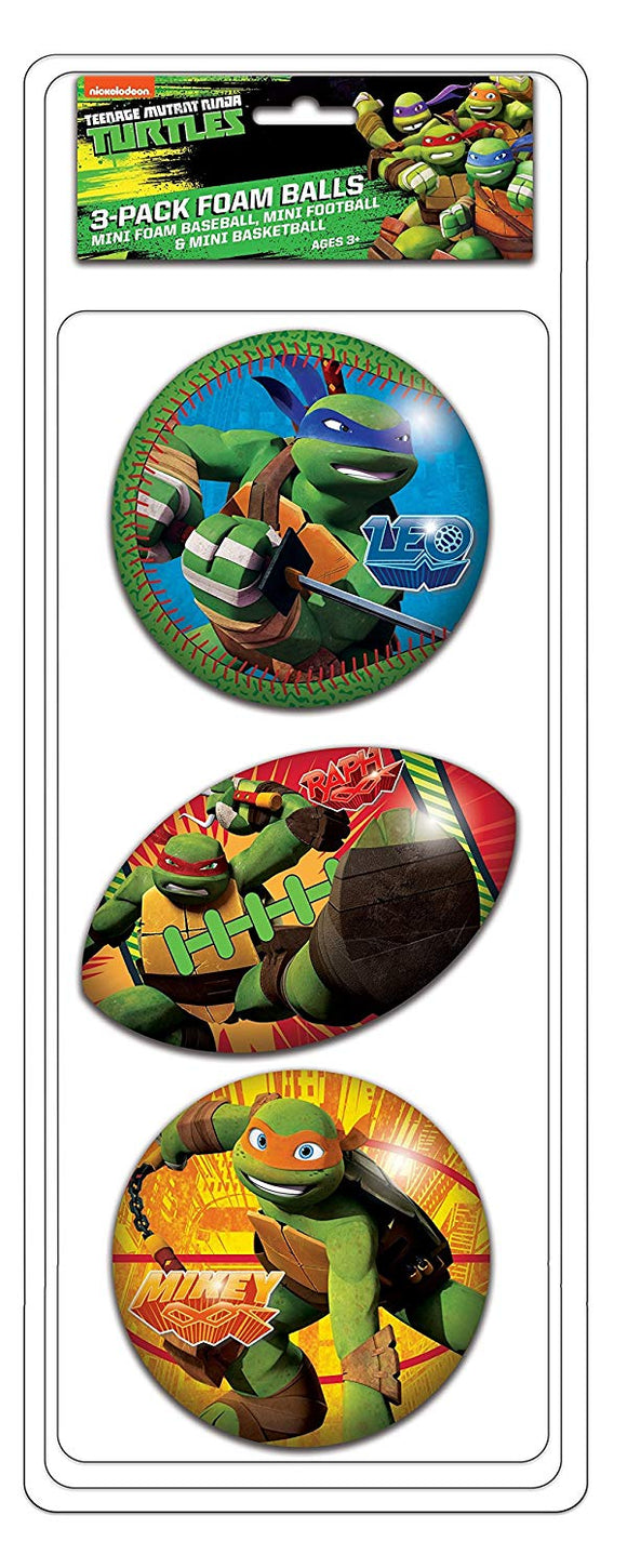 Ninja Turtles Foam Ball Set