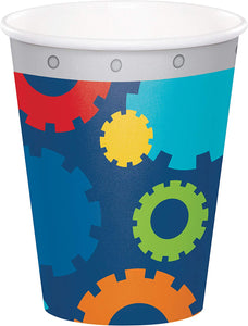 Robot Party Cups, 24 Ct