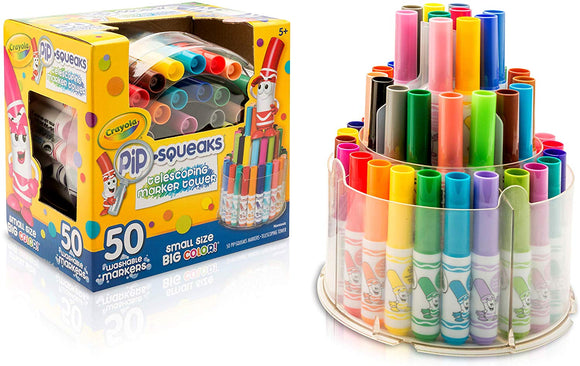 Crayola Telescoping Pip-Squeaks Marker Tower