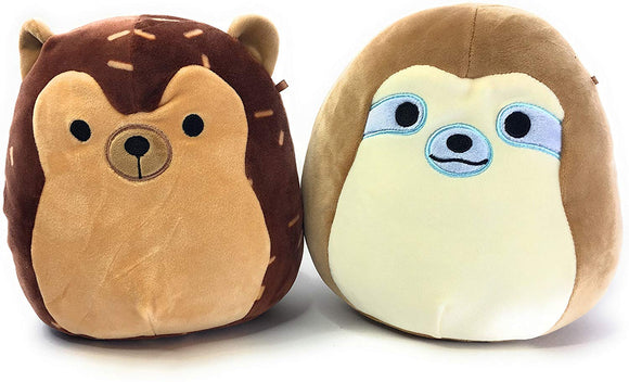 Kellytoy Sloth And Hedgehog Squishmallow 8