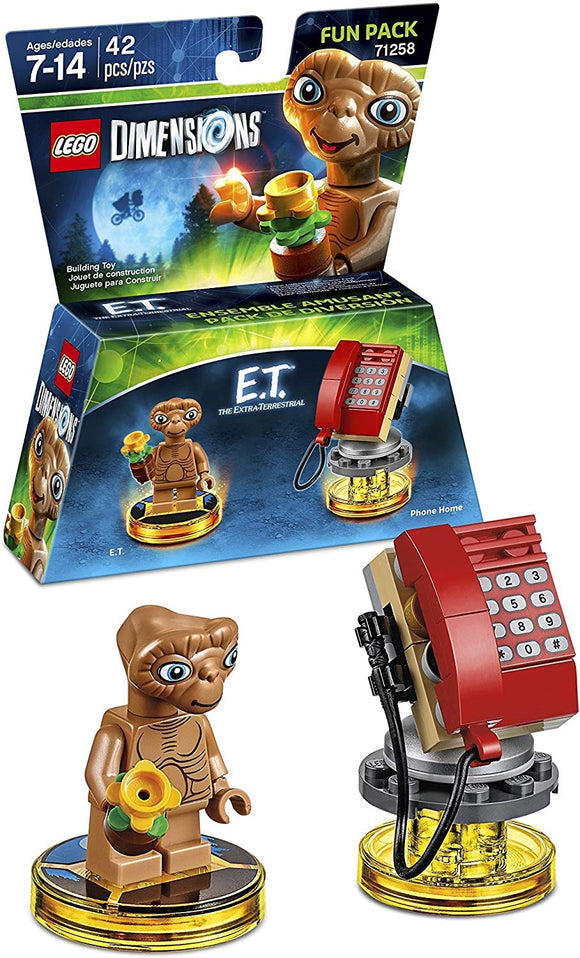 Lego Dimensions Building Toy Pack (E.T. Fun Pack 71258)