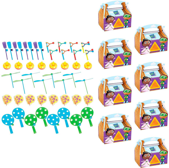 Birthdayexpress Super Why Party Supplies Filled Favor Box Kit (For 8 Guests)