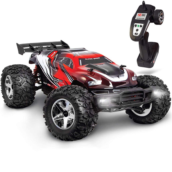 Fao Schwarz 17.5Mph Rc Hobby Racer Monster Truck For Kids  Ultra-Fast Remote Controlled Off-Road Race Car, Aerodynamic Design & Shock-Absorbing Wheels Idea For Boys & Adults