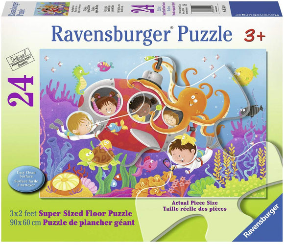 Ravensburger 05544 Deep Diving Friends Floor Puzzles