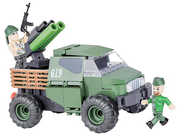Cobi Small Army 4Wd Armored Pickup Truck Building Kit