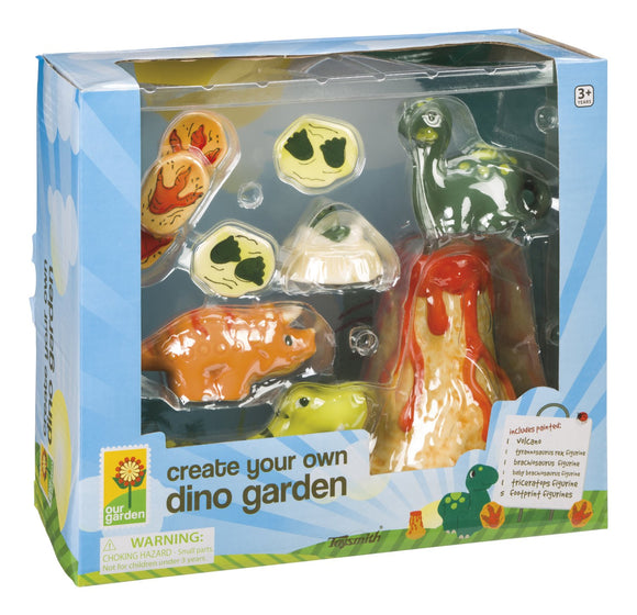 Toysmith Create Your Own Dino Park Garden Decorations