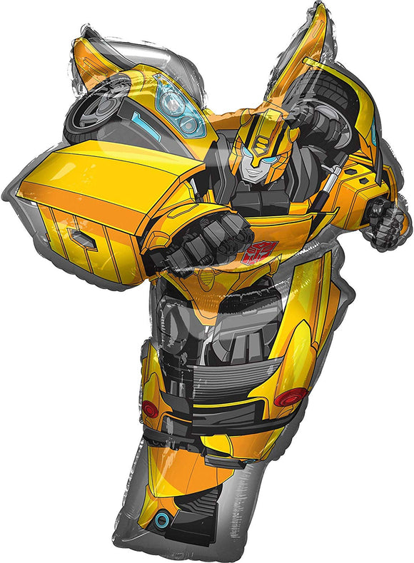 Amscan 3744201 Transformers Bumble Bee Supershape Foil Balloon