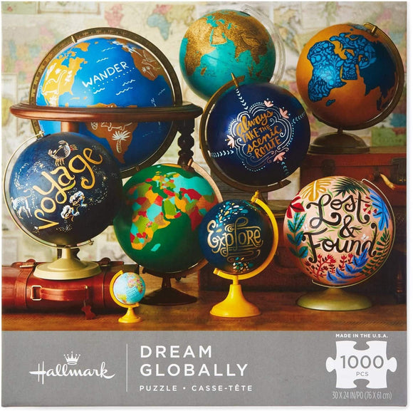 Hallmark Dream Globally 1000-Piece Puzzle Puzzles & Games