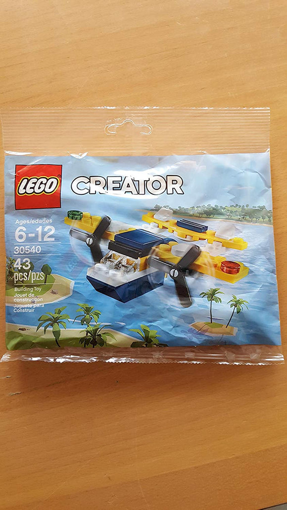 Lego Creator Yellow Flyer Airplane (30540) 43 Piece Polybag Set