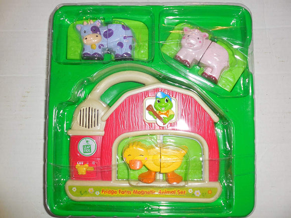 Leap Frog Fridge Farm Magnetic Animal Set