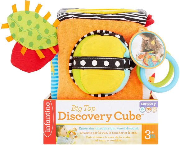 Infantino Big Top Discovery Cube