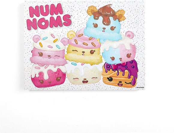 Mga Num Noms Scented Wall Art
