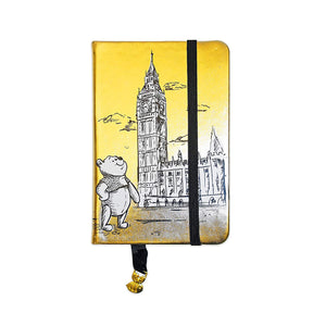"Christopher Robins Winnie The Pooh 3.5"" X 5.5"" Foil Pu Journal"
