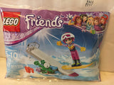 Lego Friends Snow Resort Ski Lift & Lego Friends Snowboard Tricks Bag