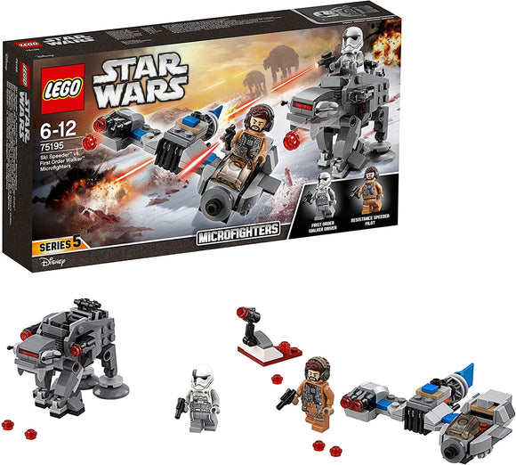 Lego Star Wars Microfighter 75195 Ski Speeder Vs.