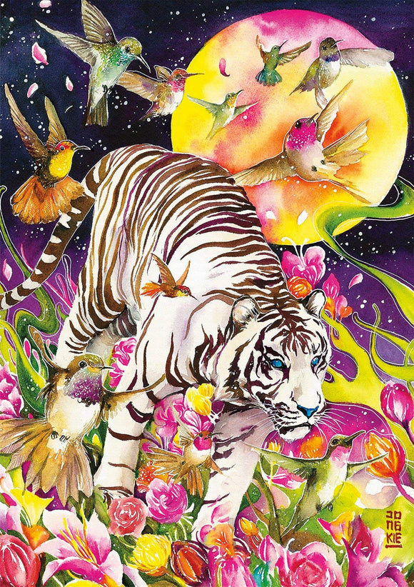 Buffalo Games - Art Of Play Collection - Tiger Moon - 500 Piece Jigsaw Puzzle