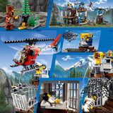 Lego City 60174 Headquarters Of The Mountain Police